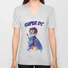Super DC Unisex V-Neck