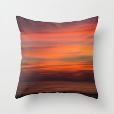 When sun goes down Throw Pillow