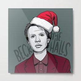 Beck The Halls Metal Print