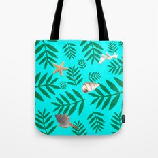 leaf coral Tote Bag