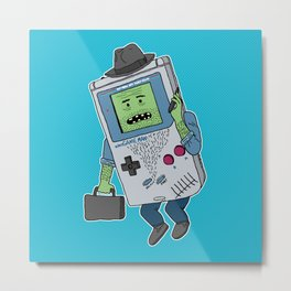 Game Man Metal Print