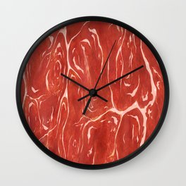 Meat! Wall Clock