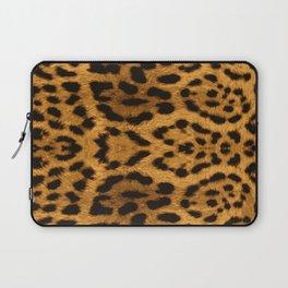 Baesic Leopard Print Laptop Sleeve