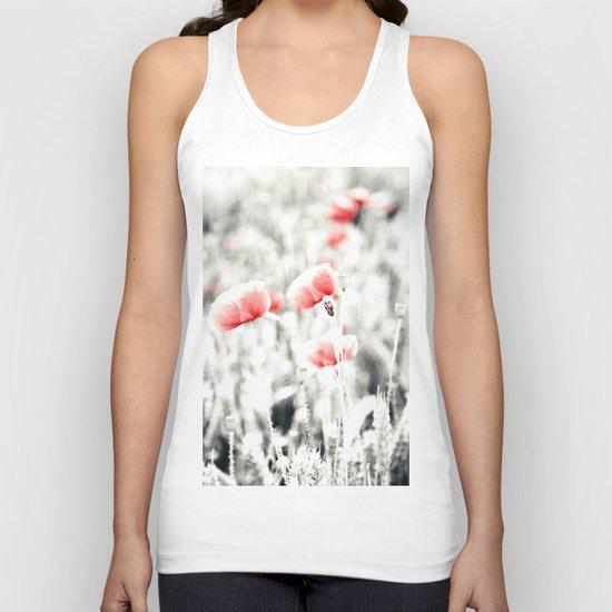 Poppy Poppies Mohn Mohnblume Flower Unisex Tank Top