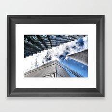 Look Up London Framed Art Print