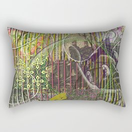 A Strict Code for Mourning Flowers (1) Rectangular Pillow