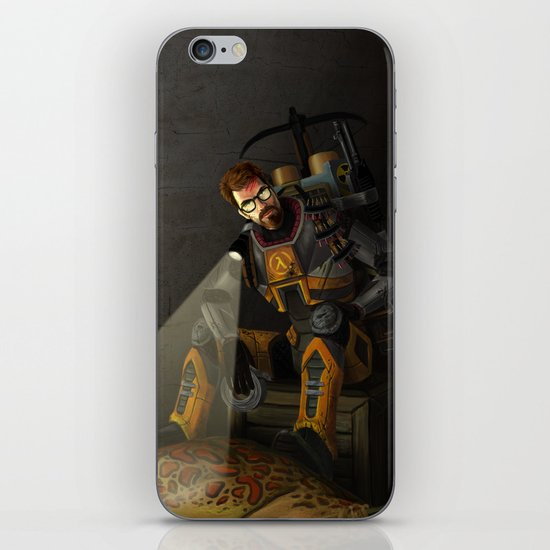 The One Free Man iPhone & iPod Skin