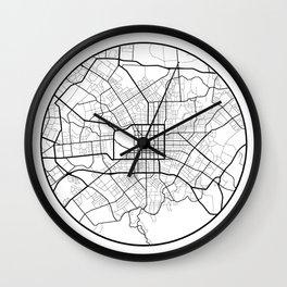 Minimal Maps - Christchurch Wall Clock