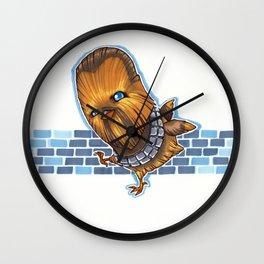 Chicken Chewbacca Wall Clock
