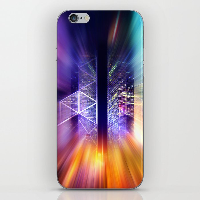 GOLDEN MOTION - Abstract Surrealism iPhone Skin