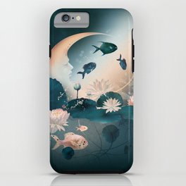 Lake sleeps iPhone Case