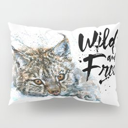 Lynx Wild and Free Pillow Sham