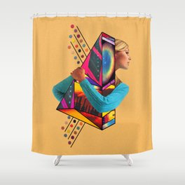 Stockholm Syndrome Shower Curtain