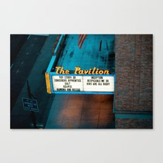Night at the Movies Canvas Print