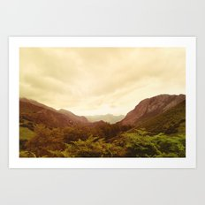 mountains (02) Art Print