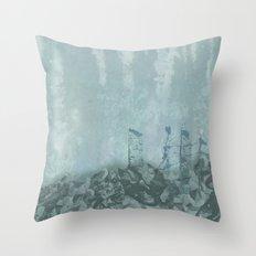 Underwater Ledge Throw Pillow
