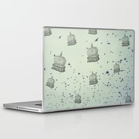 cage Laptop & iPad Skins featuring cage free by Beverly LeFevre