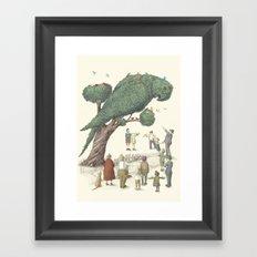 The Night Gardener - The Parrot Tree Framed Art Print