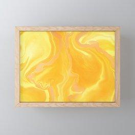 Golden honey Framed Mini Art Print