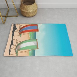 Summer Deck chairs Rug