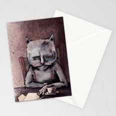Hemingway cat Stationery Cards