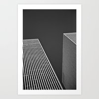 buildings Art Prints featuring Buildings by Nelson