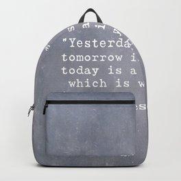Bil Keane quote 2 Backpack