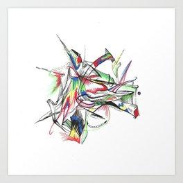 #10 Art Print