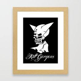 killing the trend. Framed Art Print