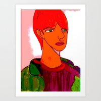 sam smith Art Prints featuring Sam by Latidra Washington