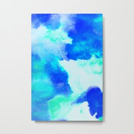 Blue Java Metal Print