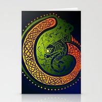 irish Stationery Cards featuring Irish Twist by Alan Hogan