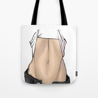 body Tote Bags featuring body by ABTD