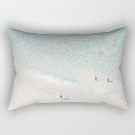 Beach Love 2  (part of a diptych) Rectangular Pillow