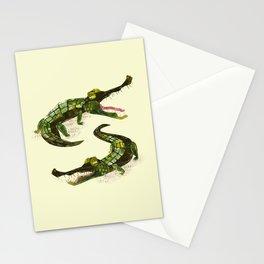 Crocodiles Stationery Cards