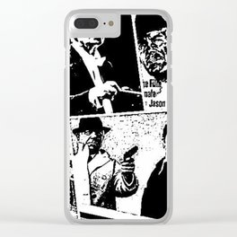 When Morricone Meets Leone Clear iPhone Case