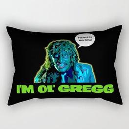 Old Gregg Rectangular Pillow