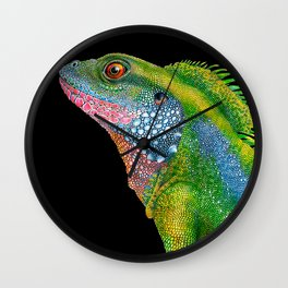 Chinese Water Dragon Wall Clock