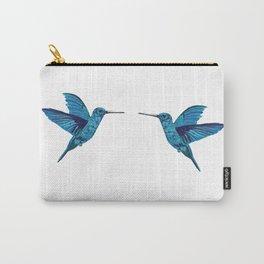 Blue hummingbird Carry-All Pouch