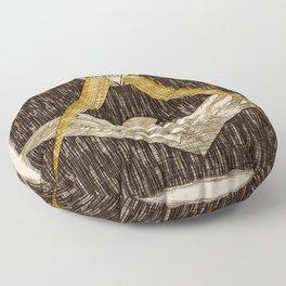 Masonic Symbolism Floor Pillow