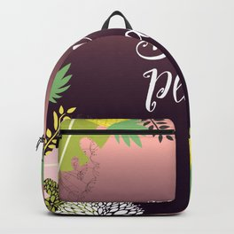 Summer Holiday Beach Please Backpack