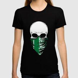 Saudi Arabia Skull Tee - Saudi Arabia T-shirt