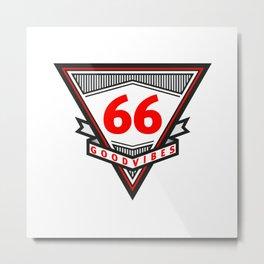 Good Vibes 1966 Metal Print