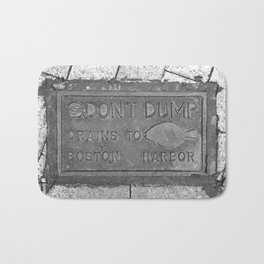Keep Boston Harbor Clean Bath Mat