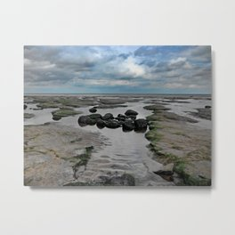 The Water Slips Away Metal Print