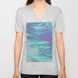 Seamless waves Unisex V-Neck