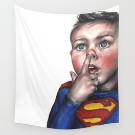 SuperBoy Wall Tapestry