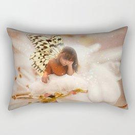 Bored Fairy Rectangular Pillow