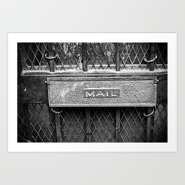 Signs: Mail Art Print