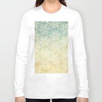 escher Long Sleeve T-shirts featuring escher pattern by Vin Zzep
